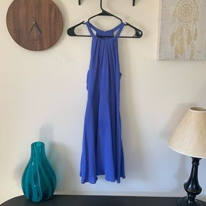 Express Purple Mid Length Dress